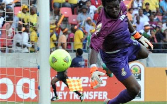 Goalkeeper Dauda earned his keep