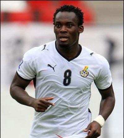Essien captains Stars tonight